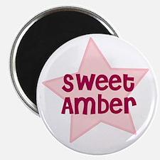 Sweet Amber Magnet