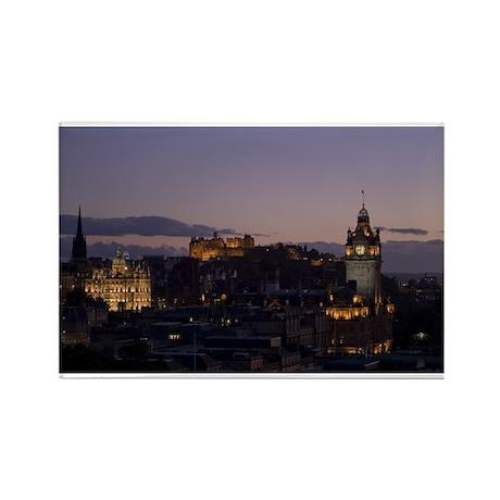 Illuminated Edinburgh Rectangle Magnet (10 pack)