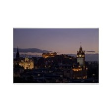 Illuminated Edinburgh Rectangle Magnet