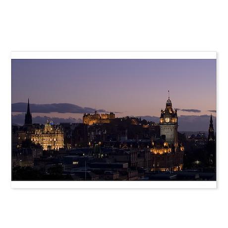 Illuminated Edinburgh Postcards (Package of 8)