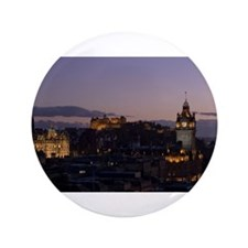 "Illuminated Edinburgh 3.5"" Button"