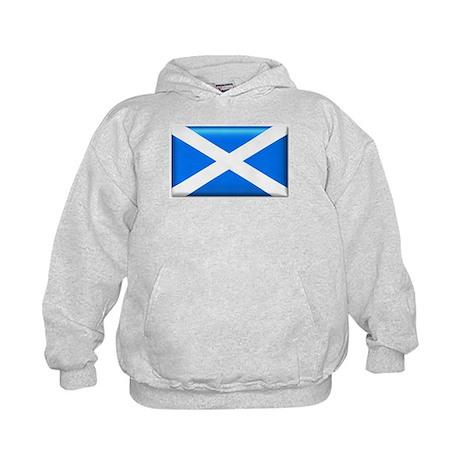 Flag of Scotland Kids Hoodie