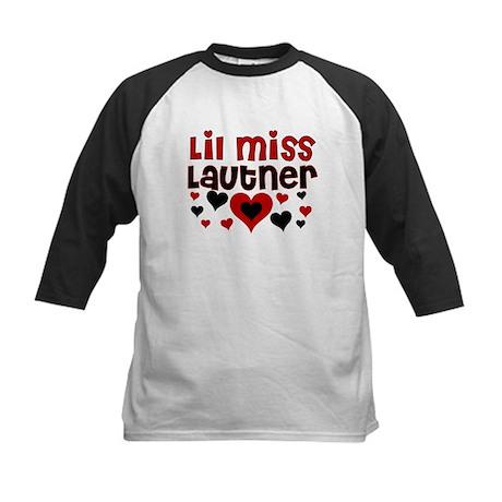 Lil Miss Taylor Lautner Kids Baseball Jersey