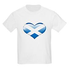 Heart Flag of Scotland T-Shirt