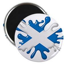 Splash Flag of Scotland Magnet