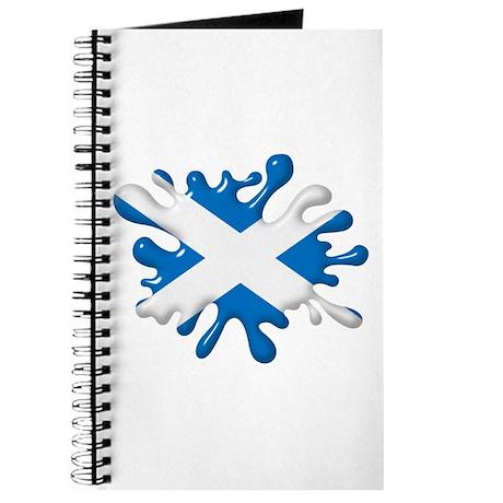 Splash Flag of Scotland Journal