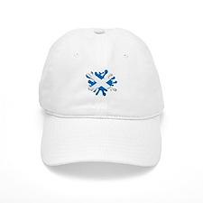 Splash Flag of Scotland Baseball Cap