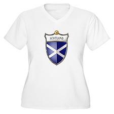 St Andrew's Cross Shield of S T-Shirt