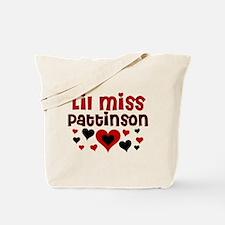 Lil Miss Pattinson Tote Bag