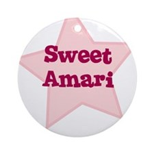 Sweet Amari Ornament (Round)