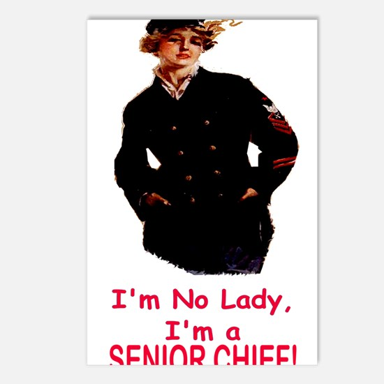 Lady? No, Senior Chief Postcards (Package of 8)