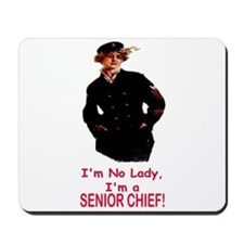 Lady? No, Senior Chief Mousepad
