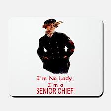 Lady? No, Senior Chief Mousepad