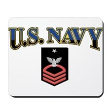 SC USN Red Mousepad