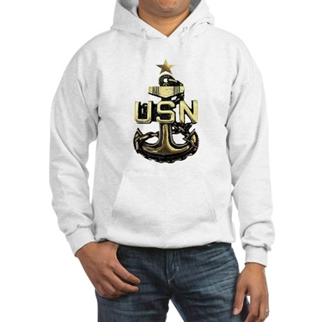 Senior Chief Anchor Hooded Sweatshirt