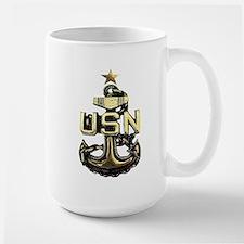 Senior Chief Anchor Large Mug