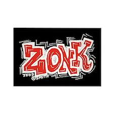 Zonk Rectangle Magnet