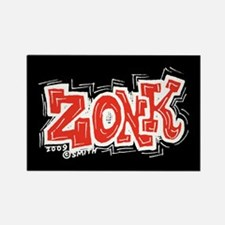 Zonk Rectangle Magnet