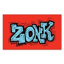 Zonk Rectangle Decal
