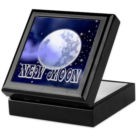 New Moon Night Sky Keepsake Box