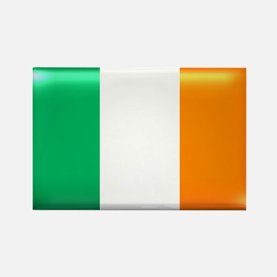 Flag of Ireland Rectangle Magnet (10 pack)