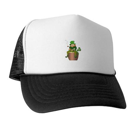 Irish Leprechaun Trucker Hat