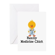 Family Medicine Chick Greeting Cards (Pk of 10)