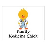 Family Medicine Chick Small Poster