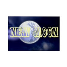 New Moon Rectangle Magnet