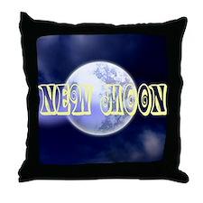 New Moon Throw Pillow