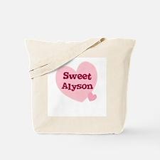 Sweet Alyson Tote Bag