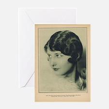 Barbara Stanwyck 1927 Greeting Card