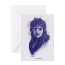 Mabel Normand 1915 Greeting Card