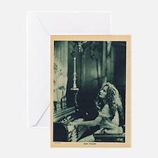 Mary Philbin Greeting Card