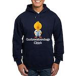 Gastroenterology Chick Hoodie (dark)