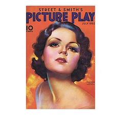 Lilian Bond 1933 Postcards (Package of 8)
