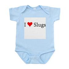 I Love Slugs Infant Creeper