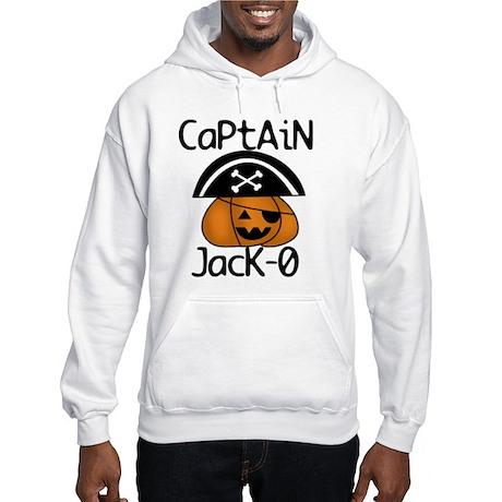 Halloween Pirate Hooded Sweatshirt