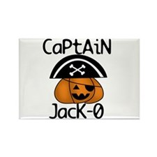 Halloween Pirate Rectangle Magnet