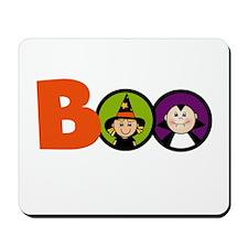 BOO Halloween Mousepad