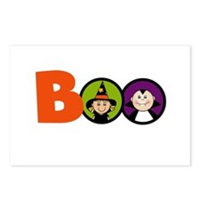 BOO Halloween Postcards (Package of 8)