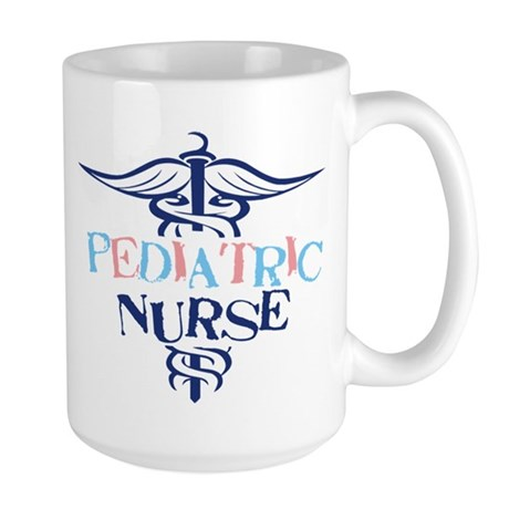 Pediatric Nurse Large Mug