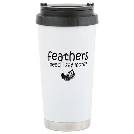 TWILIGHT! feathers Stainless Steel Travel Mug