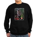 Paka the Serval Sweatshirt (dark)