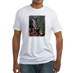 Paka the Serval Fitted T-Shirt