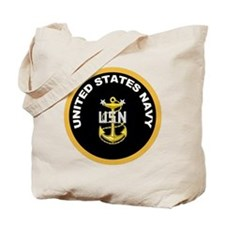 MC Anchor Gold Circle Tote Bag