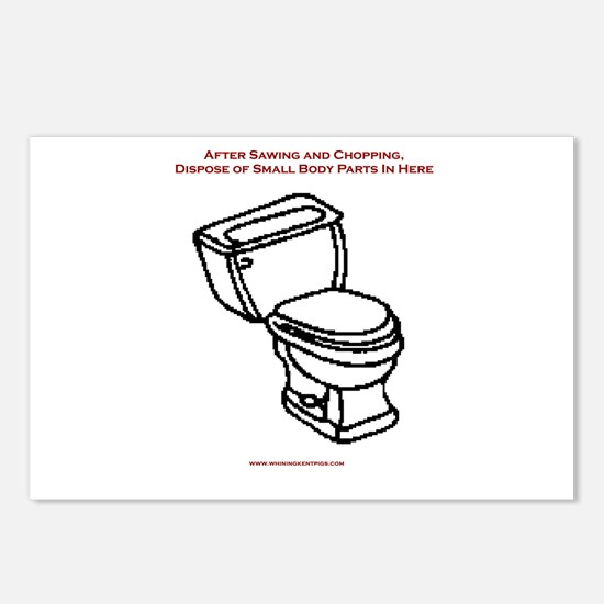 Body Disposal Postcards (Package of 8)