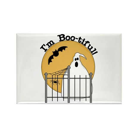Ghost I'm Boo-tiful Rectangle Magnet (100 pack)