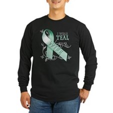 I Wear Teal for my Wife T