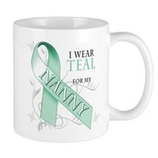 I Wear Teal for my Nanny Small Mug